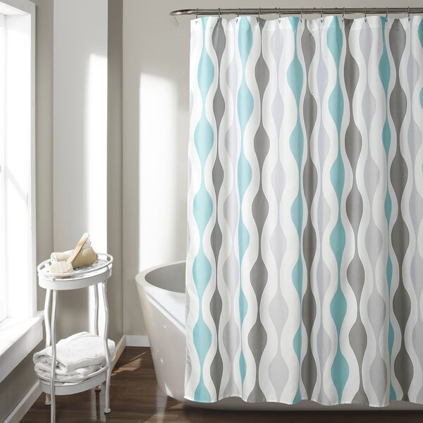 Tariq Shower Curtain by George Oliver