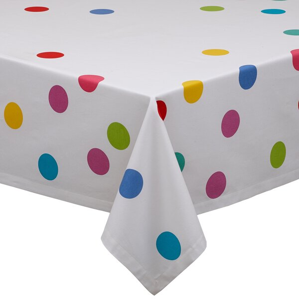 Confetti Print Tablecloth by Design Imports