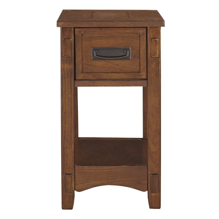 Barrett End Table With Storage