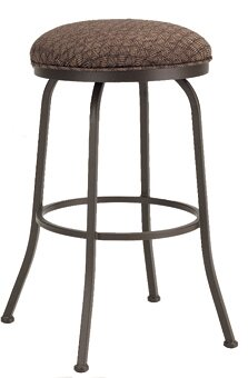 Huebner 34 Swivel Bar Stool by Red Barrel Studio