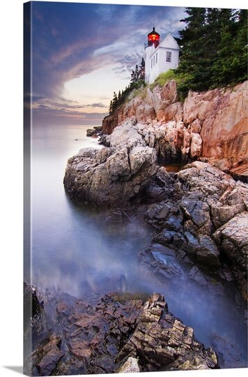 Bass Harbor by Mircea Costina Photographic Print on Canvas by Canvas On Demand