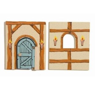 Low priced Edix the Medieval Village Barn Walls By Le Toy Van