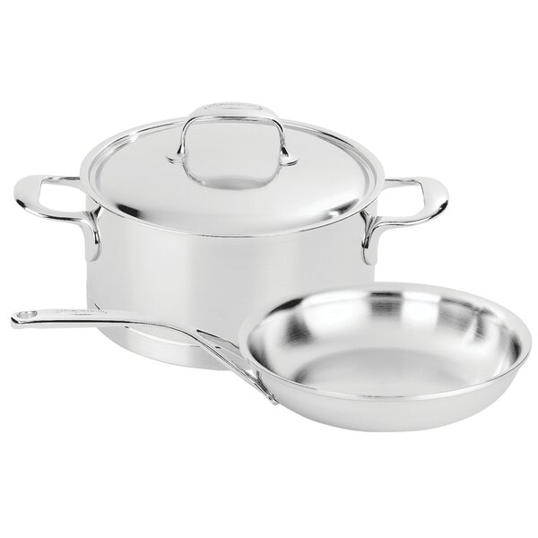 Atlantis 3-pc Stainless Steel Cookware Set by Deme