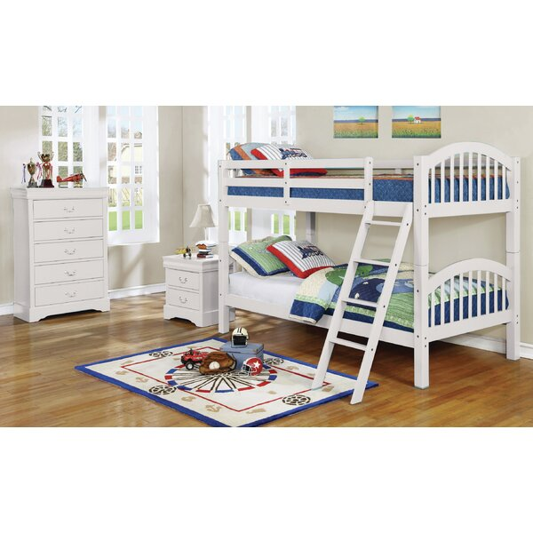 Warren Twin Over Twin Bunk Bed by Harriet Bee