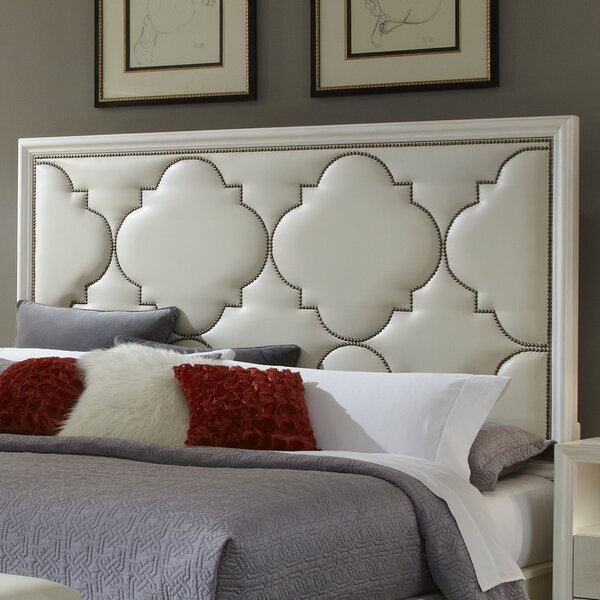 Upholstered Panel Headboard by House of Hampton