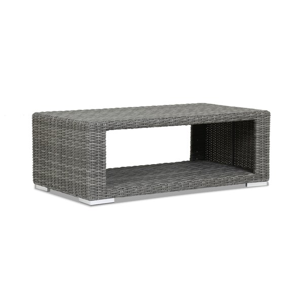 Emerald II Wicker Coffee Table by Sunset West