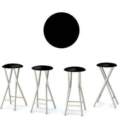 Keep Calm and Party On 30'' Patio Bar Stool (Set of 4) by Best of Times