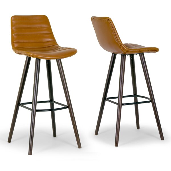 Alden Bar Stool (Set of 2) by Glamour Home DecorAlden Bar Stool (Set of 2) by Glamour Home Decor