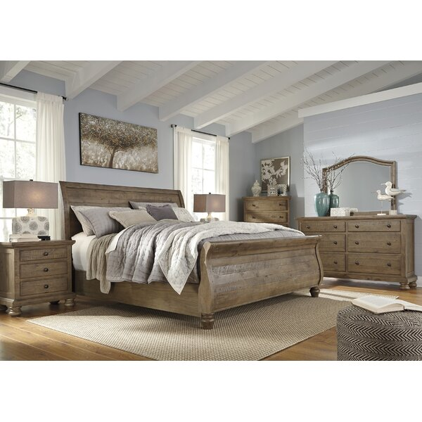 Trudy Sleigh Configurable Bedroom Set by Greyleigh
