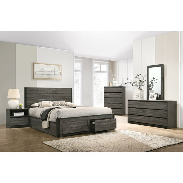 Myron 5 Piece Bedroom Set by Union Rustic