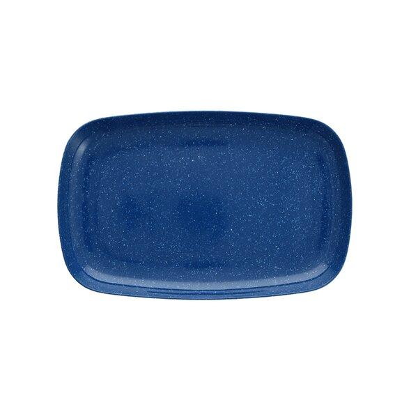Maskell Coupe Melamine Platter (Set of 4) by Fortessa