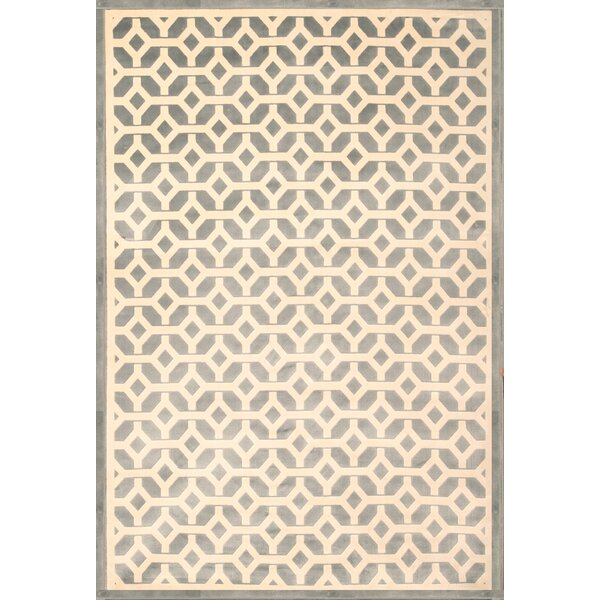 Becker Light Blue/Ivory Area Rug by Corrigan Studio