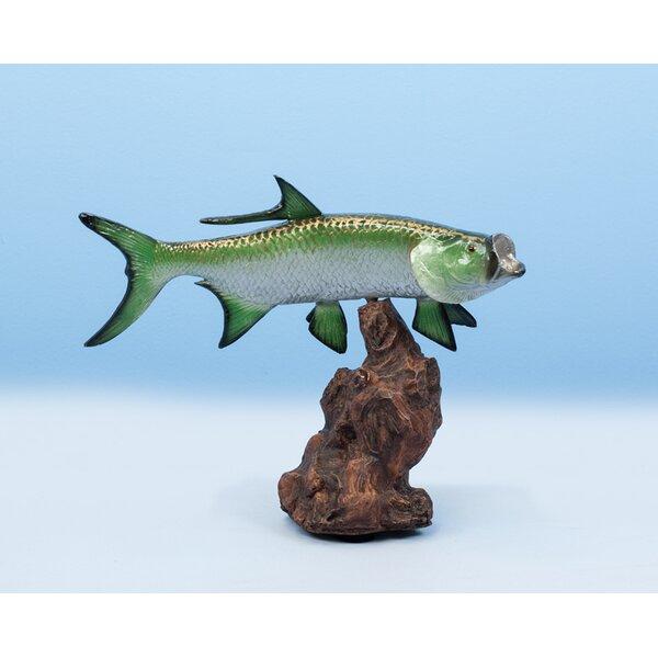 Paolini Tarpon Figurine by Loon Peak