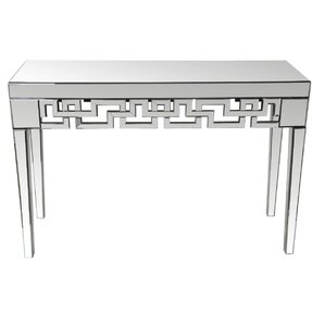 Beveled Mirror Console Table by Privilege