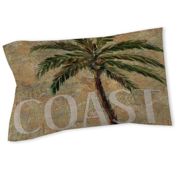 Coastal Palm Postcard Sham by Manual Woodworkers & Weavers