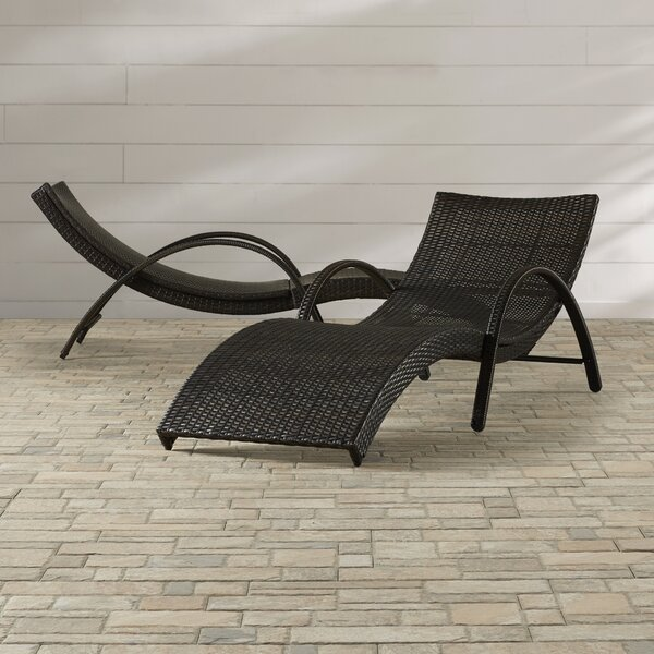 Pyrmont Sun Lounger Set (Set of 2) by Latitude Run