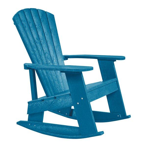 William Adirondack Rocking Chair by Beachcrest Home