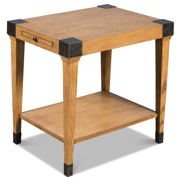 Canfield End Table by Millwood Pines Millwood Pines
