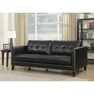 Glen View Leather Standard Sofa
