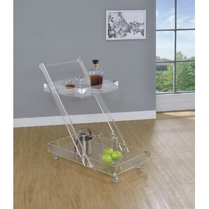 Labonte Serving Bar Cart by Orren Ellis Top Reviews