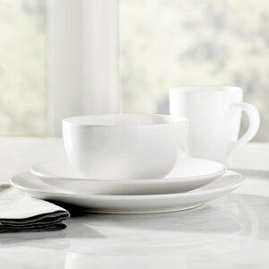 Wayfair Basics 16 Piece Stoneware Dinnerware Set, Service for 4