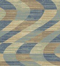Stone Blue Area Rug by Ebern Designs