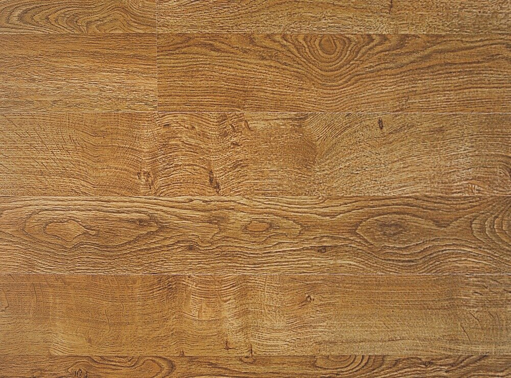 "QS 700 8"" x 47"" x 7mm Oak Laminate Flooring in Golden Oak Double Plank Living Surface"