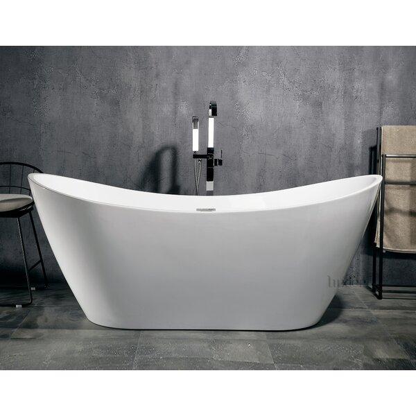 Luxury 70 x 30 Freestanding Soaking Bathtub by Luxier