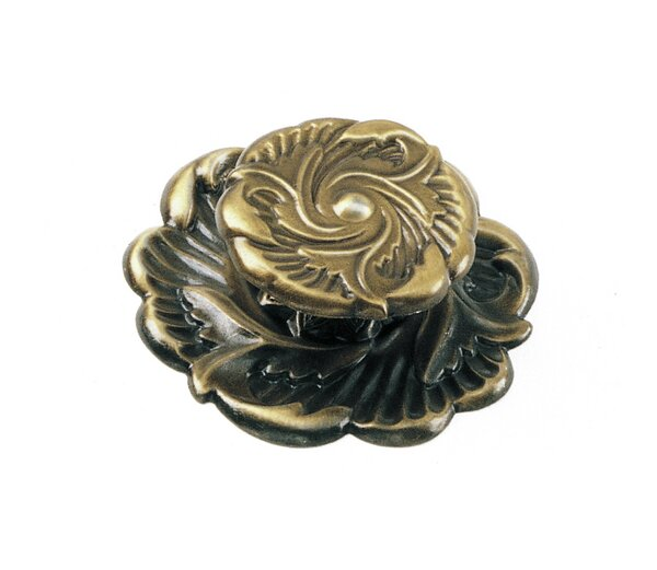 Classic Traditions Flower Novelty Knob by Laurey