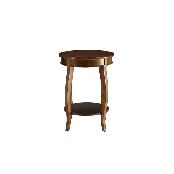 Mattea End Table by Charlton Home