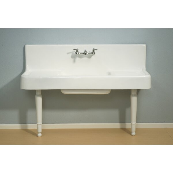Farmhouse 60 L x 21 W Drainboard Kitchen Sink