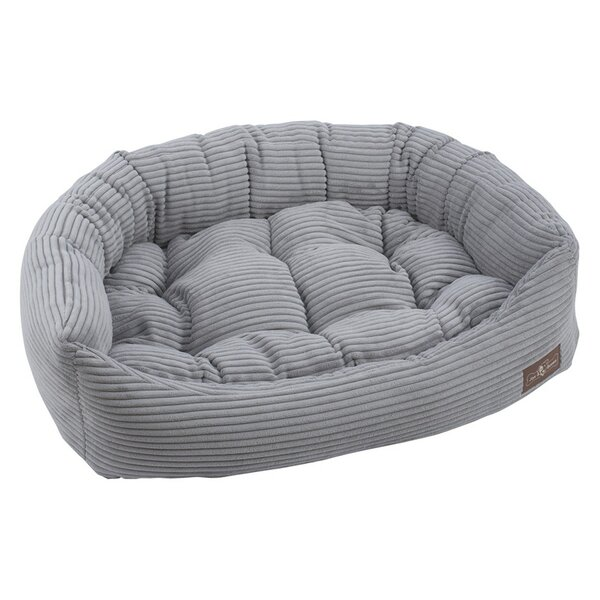 Corduroy Napper Bolster Dog Bed by Jax & Bones
