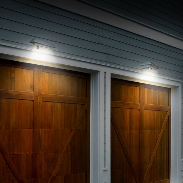 Solar Rectangular LED Flood Light ( Set of 2) (Set of 2) by Touch of ECO