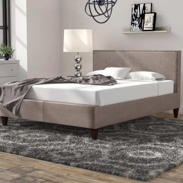 Elisavet Queen Upholstered Platform Bed by Brayden Studio