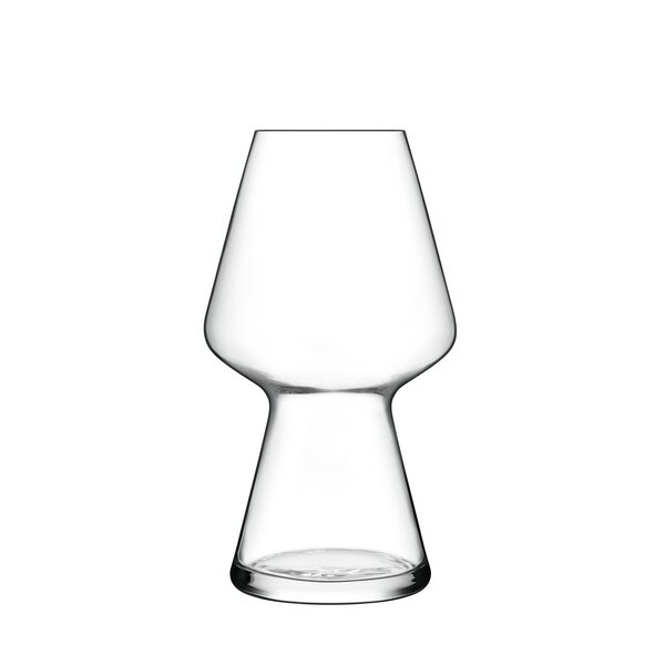 Birrateque 23 oz. Crystal Pint Glass (Set of 2) by Luigi Bormioli