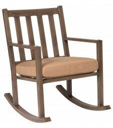 Woodlands Small Rocking Chair Woodard