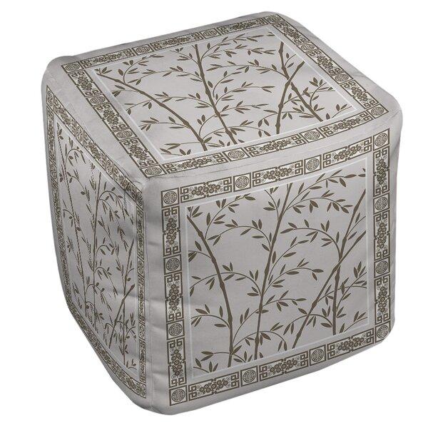 Oriental Treasure Pouf by Manual Woodworkers & Weavers