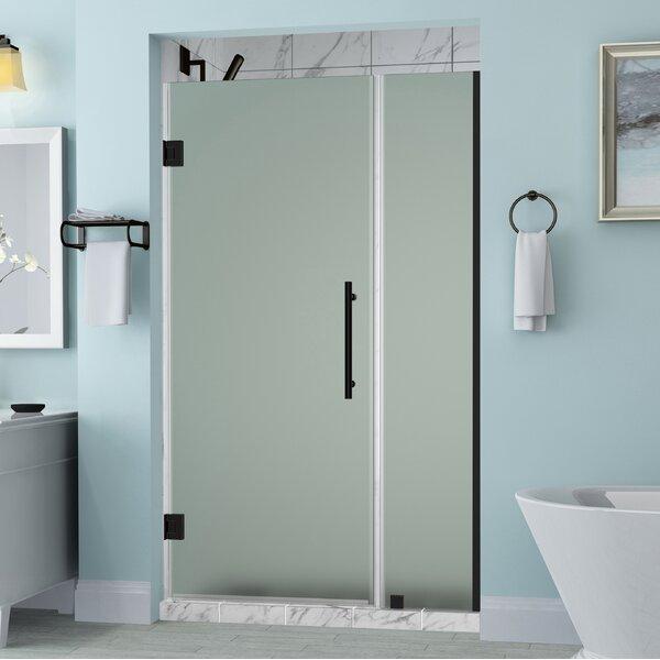 Belmore 72 x 72 Hinged Frameless Shower Door by Aston