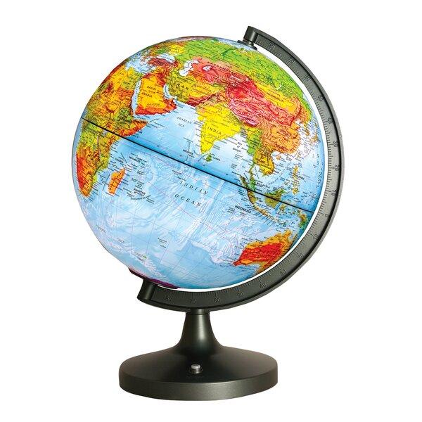 Dual Cartography LED Illuminated Globe by Elenco Electronics
