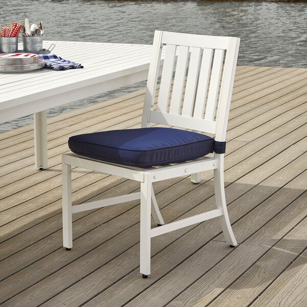 Kaiden Side Chair with Cushions by Longshore Tides