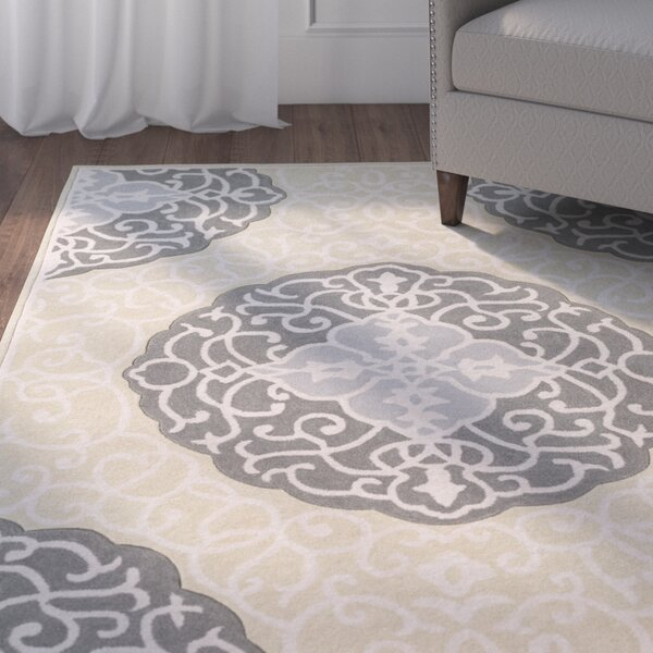 Windsor Hand-Tufted Green/Gray Area Rug by Charlton Home