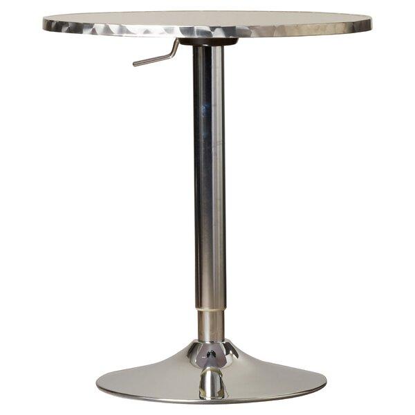 Adlai Adjustable Height Pub Table Amp Reviews Allmodern