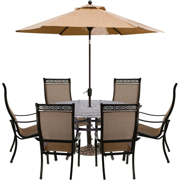 Buariki 8 Piece Dining Set by Fleur De Lis Living