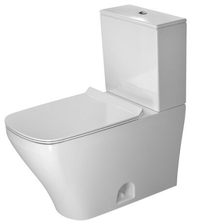 DuraStyle 1.28 GPF (Water Efficient) Elongated Two-Piece Toilet (Seat Not Included) by Duravit