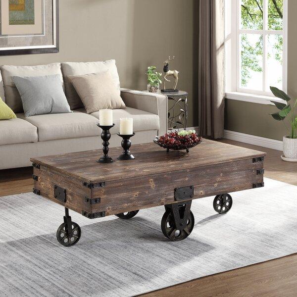Epp Wheel Coffee Table by Gracie Oaks Gracie Oaks