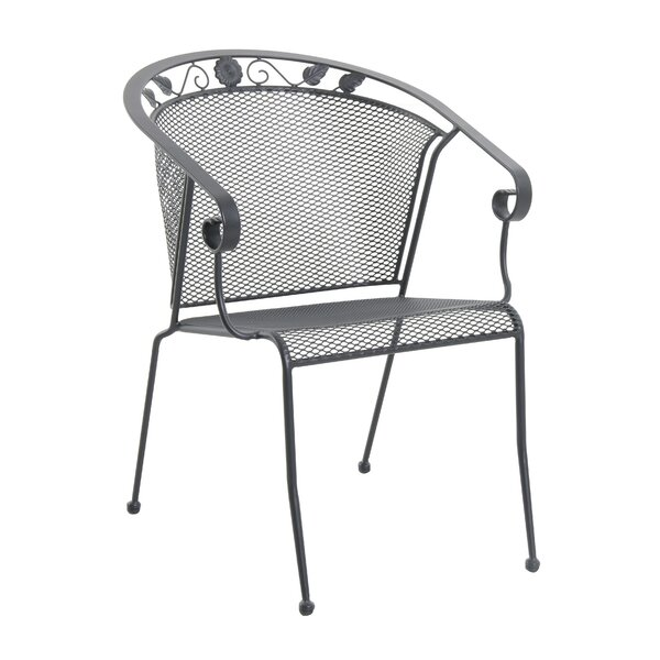 Oxford Stacking Patio Dining Chair (Set of 4) by Royal Garden