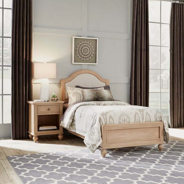Jerkins Panel 2 Piece Bedroom Set by Alcott Hill