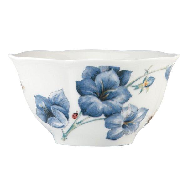 Butterfly Meadow 16 oz. Blue Rice Bowl by Lenox