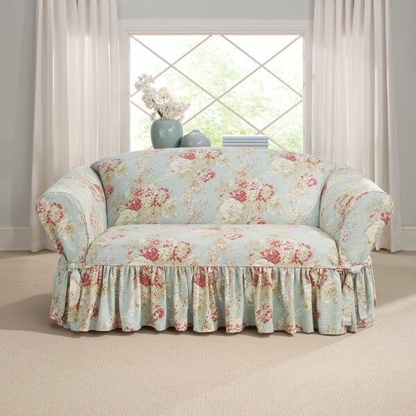Review Ballad Box Cushion Loveseat Slipcover