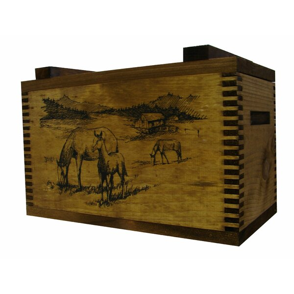 Standard Storage Box with Horse Print by Evans Sports